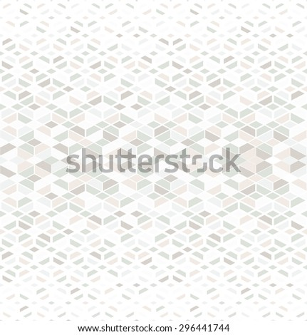 Retro pattern of geometric shapes. Colorful mosaic banner. Seamless vector background - stock vector