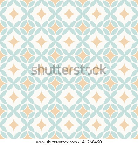 Retro pattern of geometric shapes. Colorful mosaic texture. Geometric background. Vector file has few layers for easy using. - stock vector