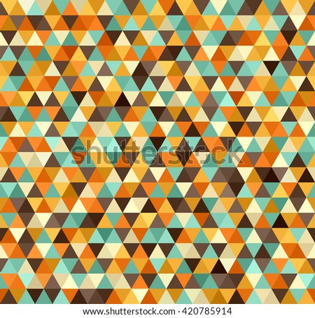 Retro pattern. Vector seamless vintage background