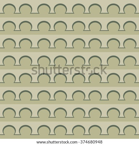Retro pearls and lines - stock vector