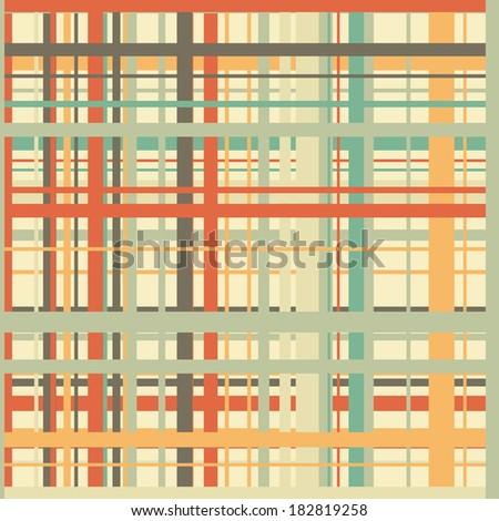 Retro pop art seamless background vector eps 8 - stock vector