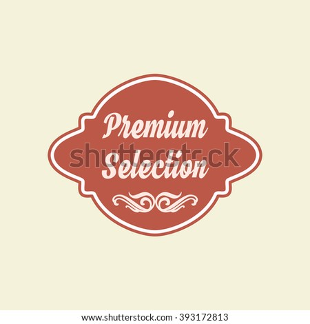 Retro premium badges logo and labels. Vintage pin badge Vector eps 10