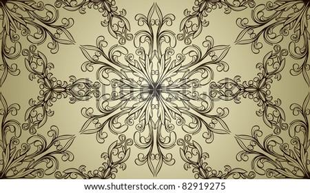Retro seamless pattern. - stock vector
