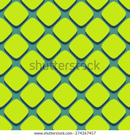 Retro seamless pattern with square shapes for printings or backgrounds. Eps 10