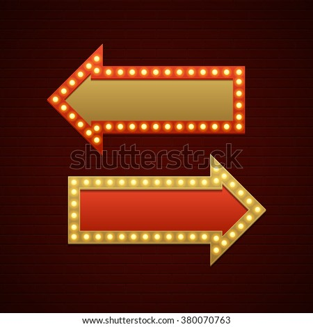Light bulb sign stock images royalty free images for Brick sign designs