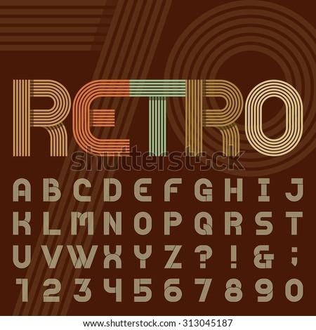 70s Disco Font