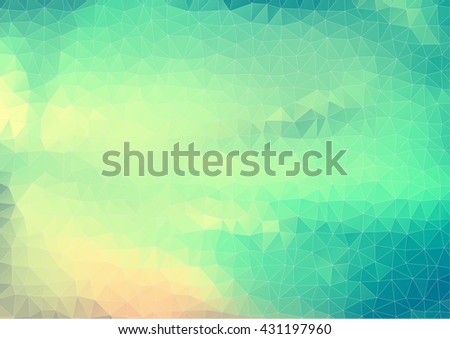 Retro Style Vector. background with triangles shapes