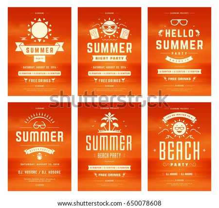 Summer Party Invitation Images RoyaltyFree Images – Party Invitation Flyer