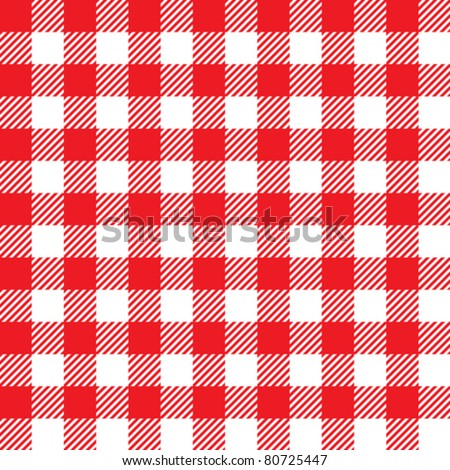 Retro tablecloth texture - stock vector