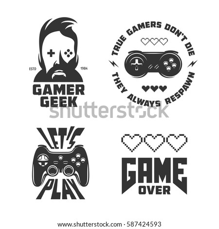 Retro Video Games Related Tshirt Design 587424593