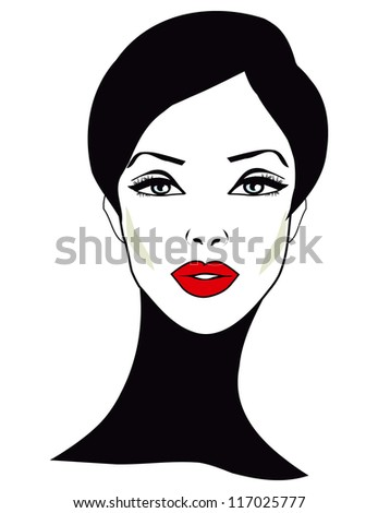 Retro Woman - Retro Clip Art