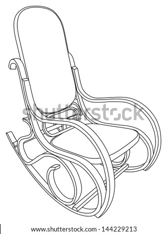 Rocking Chair Drawing