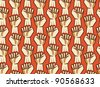 revolution seamless pattern - vector illustration - stock vector