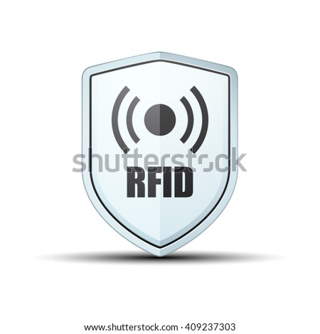 RFID Protection Shield sign