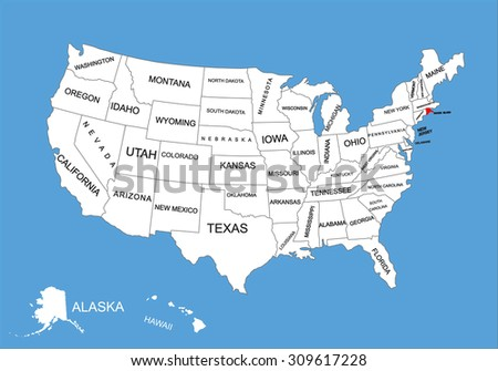 Quotrhode Island Boundaryquot Stock Images RoyaltyFree - Rhode island on the us map