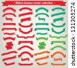 Ribbon Banners Vector Collection - stock vector