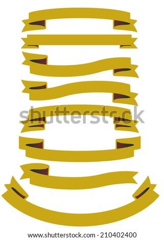 ribbon Vector  - stock vector