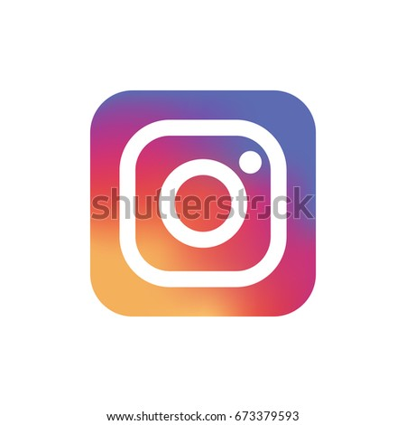 RIGA, LATVIA - JULY 27, 2016: New Instagram logo printed on paper. Instagram is an online service that enables its users to share pictures and videos on social networking platforms