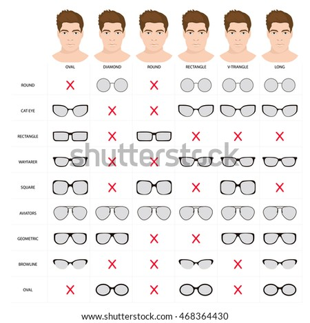 Eyeglasses Frame For Different Face Shapes : Glasses Frames Stock Photos, Royalty-Free Images & Vectors ...