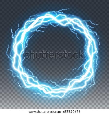 Lightning Blue Ring