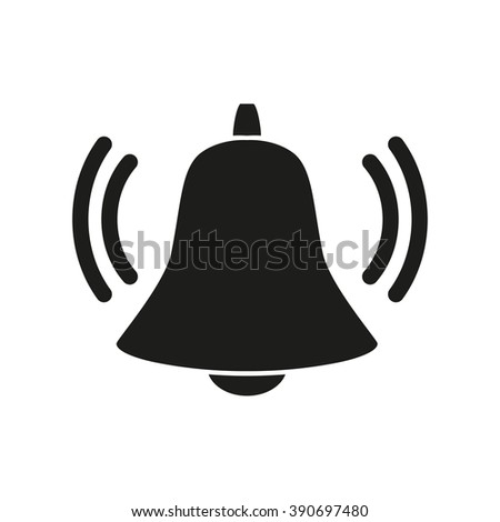 Ringing bell icon.bell Icon Vector. Art. eps. Image. logo.bell Icon Sign. - stock vector