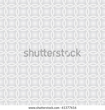 Rings white background (editable seamless pattern) - stock vector