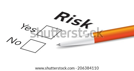 risk assessment concept vector business