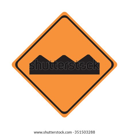 Road Construction Sign - stock vector