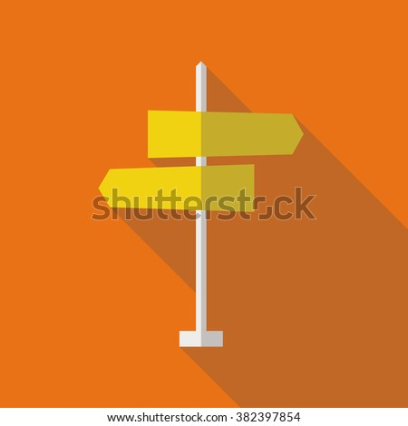 set 6 road signs silhouette icons stock vector 382754287