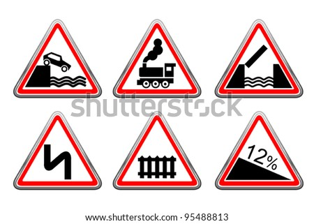 Road signs set 11