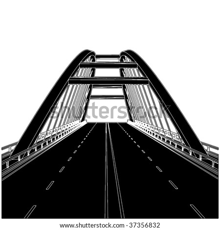 Road The Bridge Vector 01