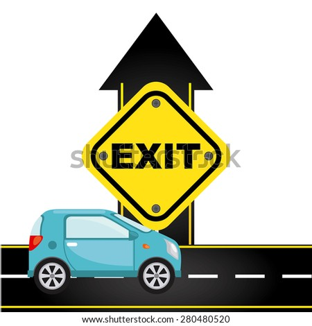 road traffic design, vector illustration eps10 graphic