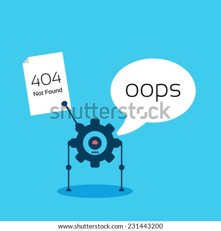 robot - stock vector