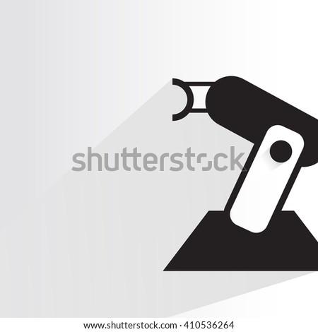 robot, robotic arm - stock vector