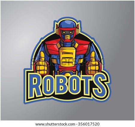 Robots - stock vector