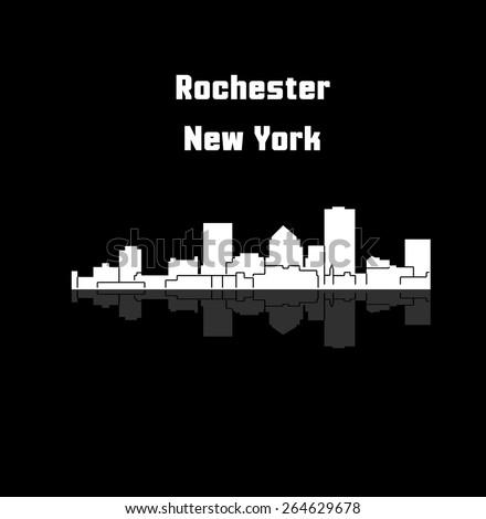Rochester, New York - stock vector