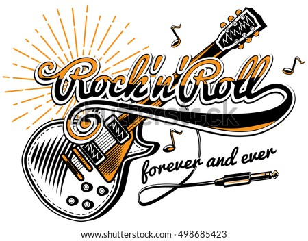 Rock-n-roll Stock Images, Royalty-Free Images & Vectors | Shutterstock