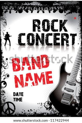 Band Poster Stock Images, Royalty-Free Images & Vectors | Shutterstock