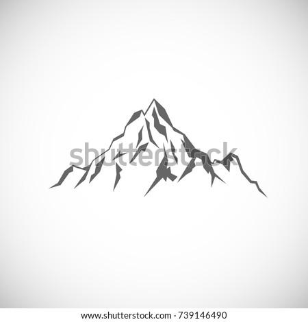 Italian Mountain Range  Letters