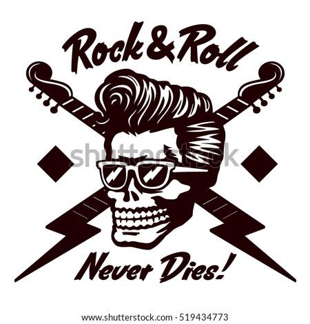 Rock N Roll Girl Hairstyles : Rock n roll stock images royalty free & vectors shutterstock