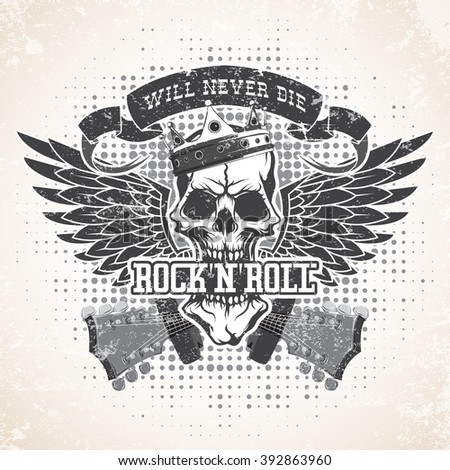 Rock n roll symbol - stock vector