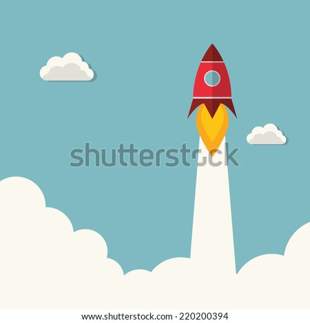 Rocket launcher - stock vector
