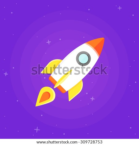 Filborg 39 s flat design set on shutterstock for Outer space urban design