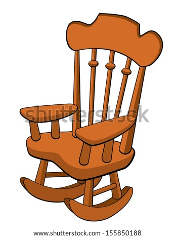 Rocking Chair Clipart chair cartoon stock images, royalty-free images & vectors