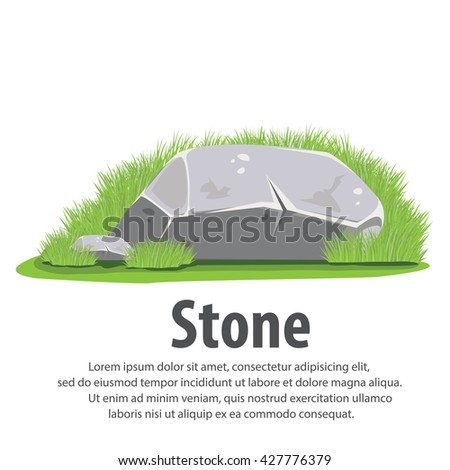 Rocks and stones single. Rock stone set cartoon. Rocks and stones. Rocks and  sc 1 st  Shutterstock & Rocks Stones Single Rock Stone Set Stock Vector 427776379 ...