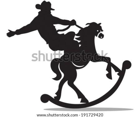Rodeo - stock vector