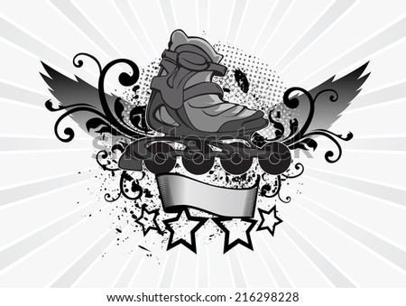 Roll - stock vector