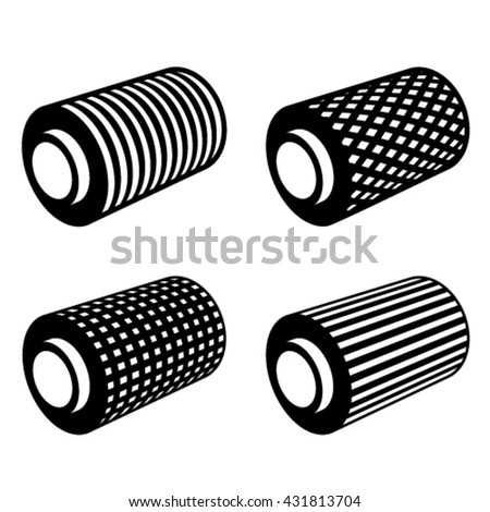 roll of anything foil thread spool vector - stock vector