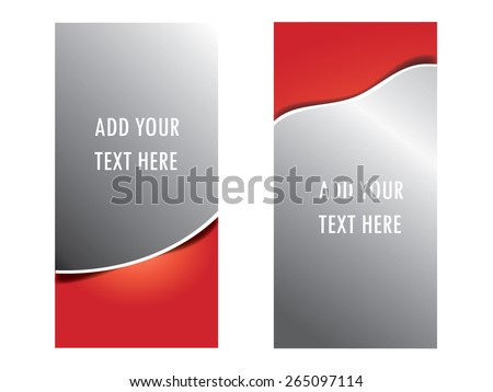 roll, up, banner, design, stand, event, board, advertisement, - stock vector
