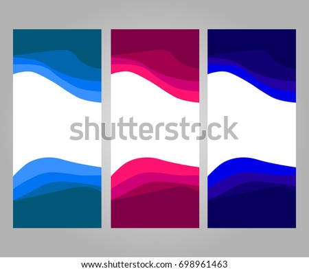 roll up banner template design for advertising exhibition and communication board vector